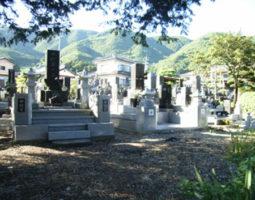 菩薩寺墓地