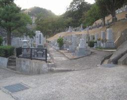 長安寺墓地