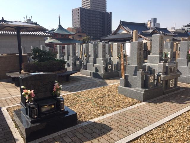 本政寺墓地 イメージ1