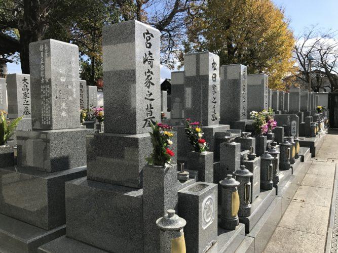 正覚寺墓地 イメージ1