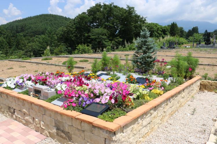 八ヶ岳 岩窪墓苑 ガーデニング型樹木葬「フラワージュ」 イメージ1