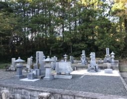 三次市安田墓地