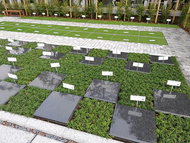 プレート型永代供養墓「花」