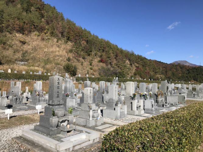 長浜市営 松の岩公園墓地 イメージ2