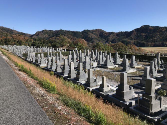 長浜市営 松の岩公園墓地 イメージ1