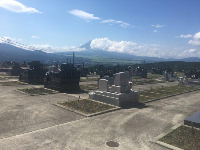裾野市営墓地 イメージ2