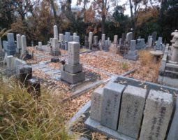 香芝市 瓦口墓地
