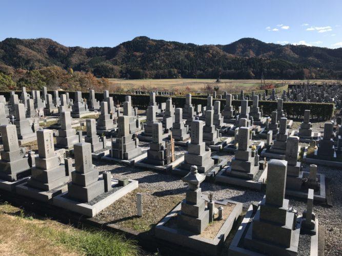 長浜市営 松の岩公園墓地 イメージ3